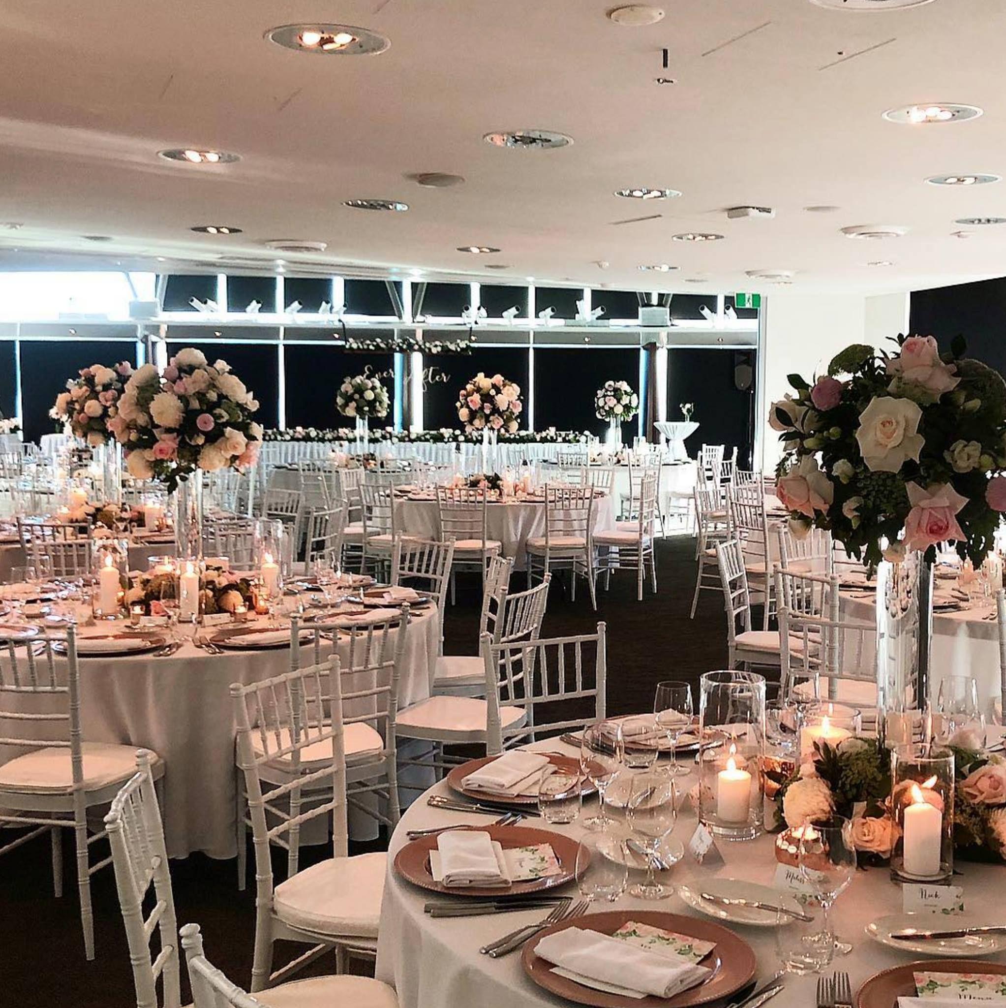 Wedding Styling And Floral Decor At Yacht Club Wedding Reception On Hamilton Island Hamilton Island Wedding Yacht Club Wedding Reception Yacht Club Wedding