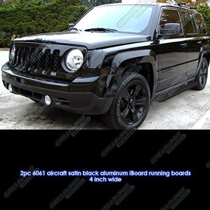 Amazon Com Matte Black 4 Iboard Running Boards 07 16 Jeep Patriot Automotive Jeep Patriot Jeep Patriot Accessories Jeep Patriot Sport