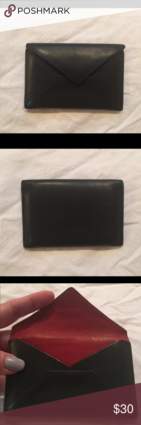 Coach leather business card holder business card holders key coach leather business card holder magicingreecefo Images