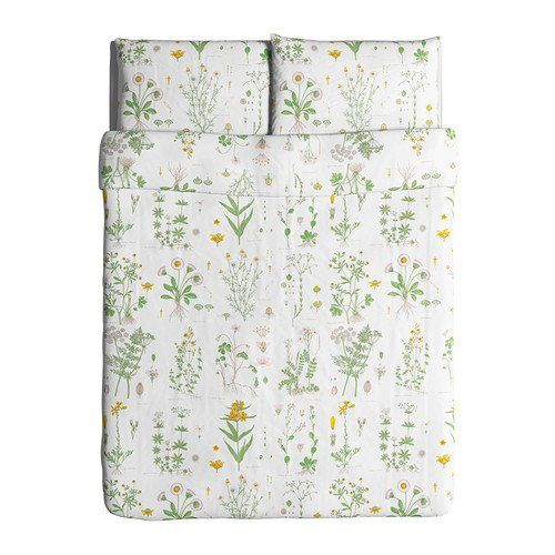 Funda Nordica Blanca Ikea.Ikea Strandkrypa Duvet Cover And Pillowcases Full Queen White In