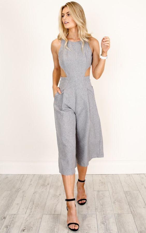 10 Produções elegantes com macacão | jumpsuit | Pinterest | Costura ...
