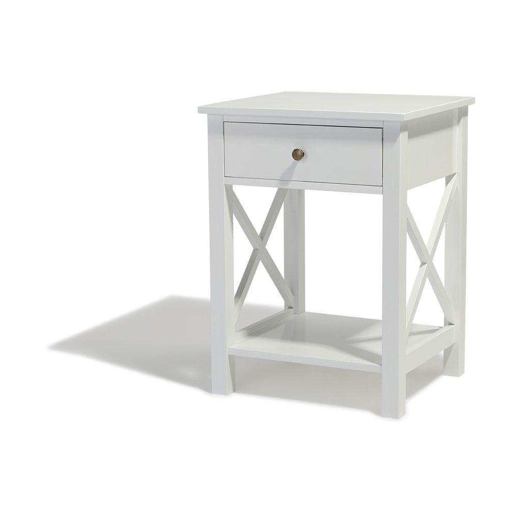 Table De Chevet Table De Chevet Blanche Table De Chevet Decoration Maison