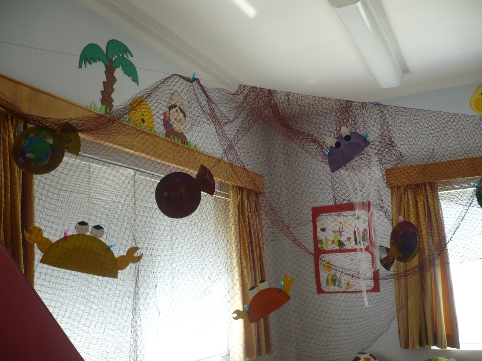 Summer Classroom Decorations Ideas : Maro s kindergarten summer classroom decoration ideas