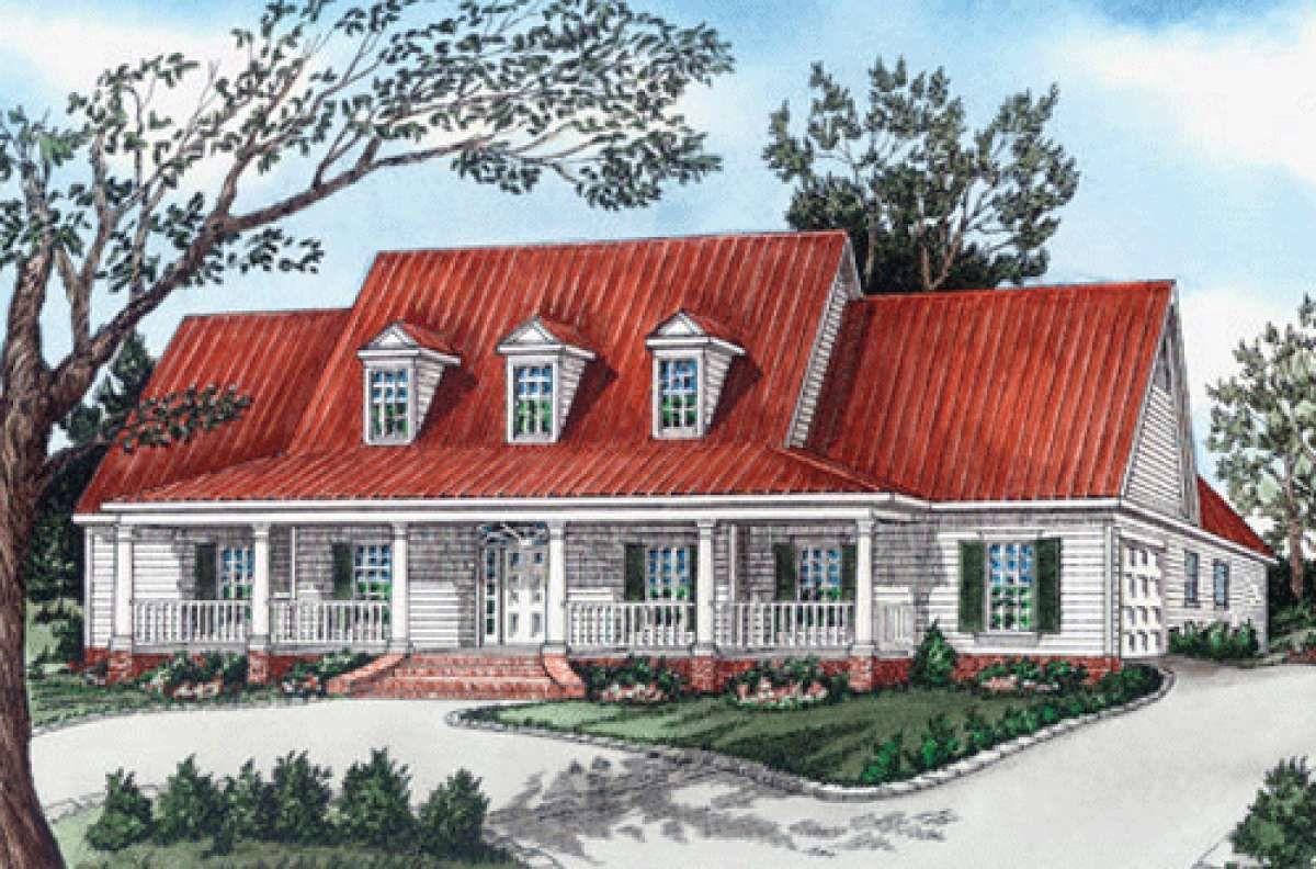 House Plan 903500099 Ranch Plan 2,683 Square Feet, 4