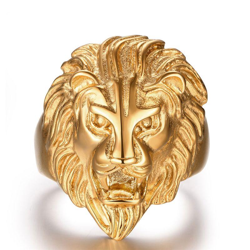 80b5dc91e19 Anel leão masculino