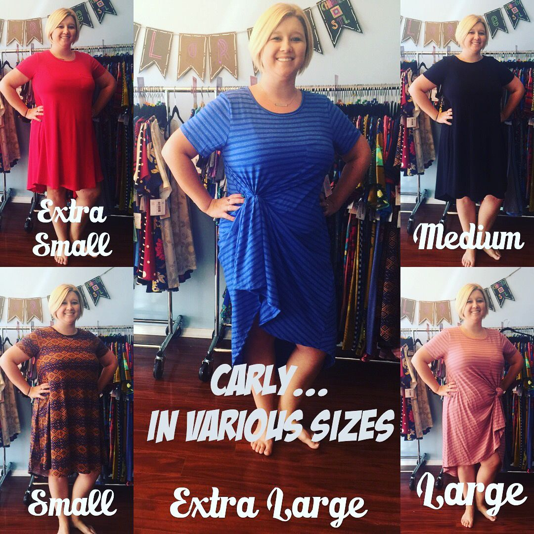 fd60eedc23ce8b LuLaRoe Carly dress can be worn in a variety of sizes!