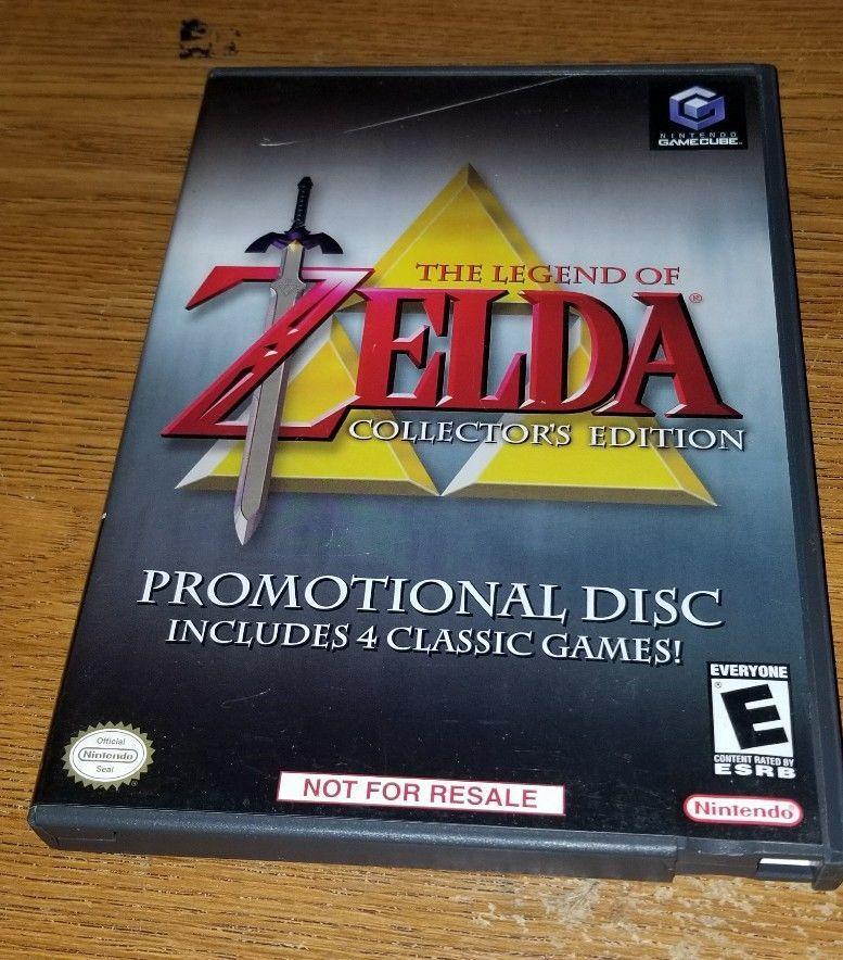 zelda collector edition gamecube
