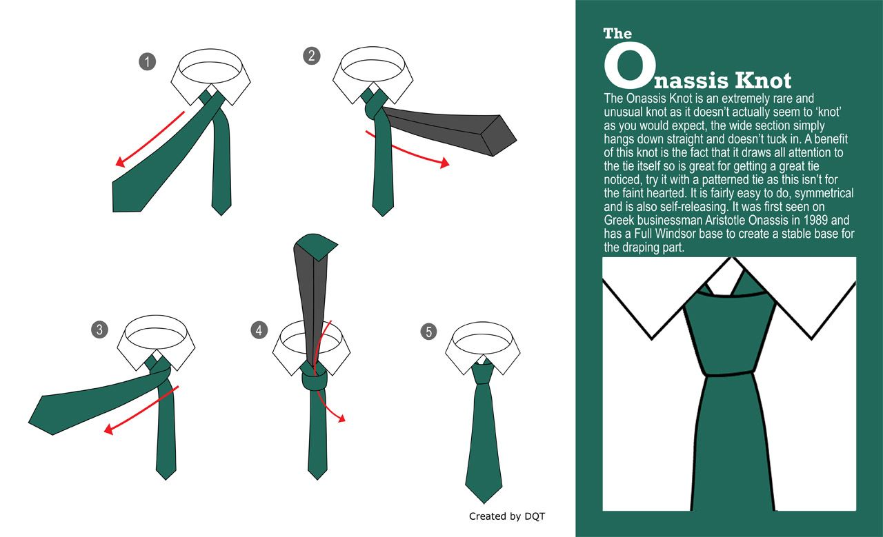 How To Tie an Onassis Knot? (18 of 21) by DQT http://www.dqt.co.uk ...