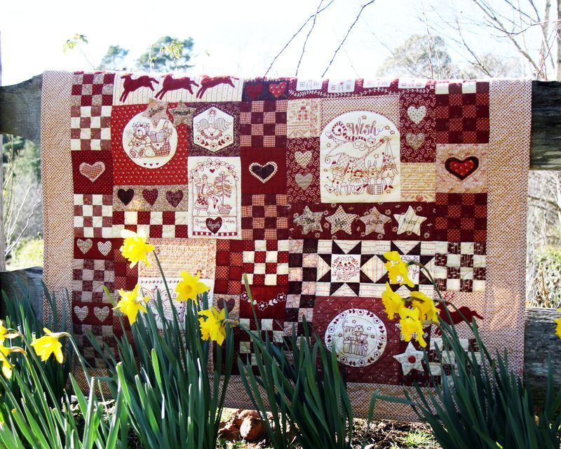 Christmas-Wish-Quilt-by-Red-Brolly--free-pattern-2 | Quilts ... : red brolly wish quilt - Adamdwight.com