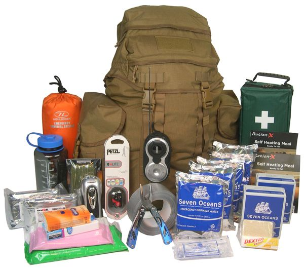 Emergency Go Bag The Best Mre Food Storage You Can