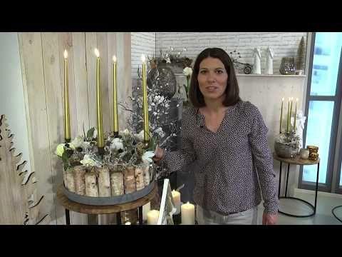 Imke Riedebusch Weihnachtsdeko.Wintertrend 2017 Gemütliche Weihnacht Youtube Floristika