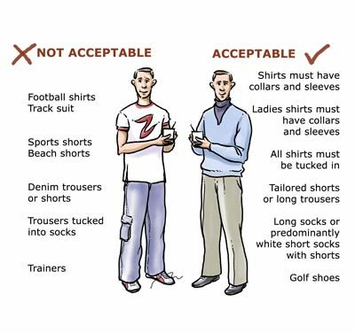 Collection Formal Dress Code Policy Pictures - Reikian