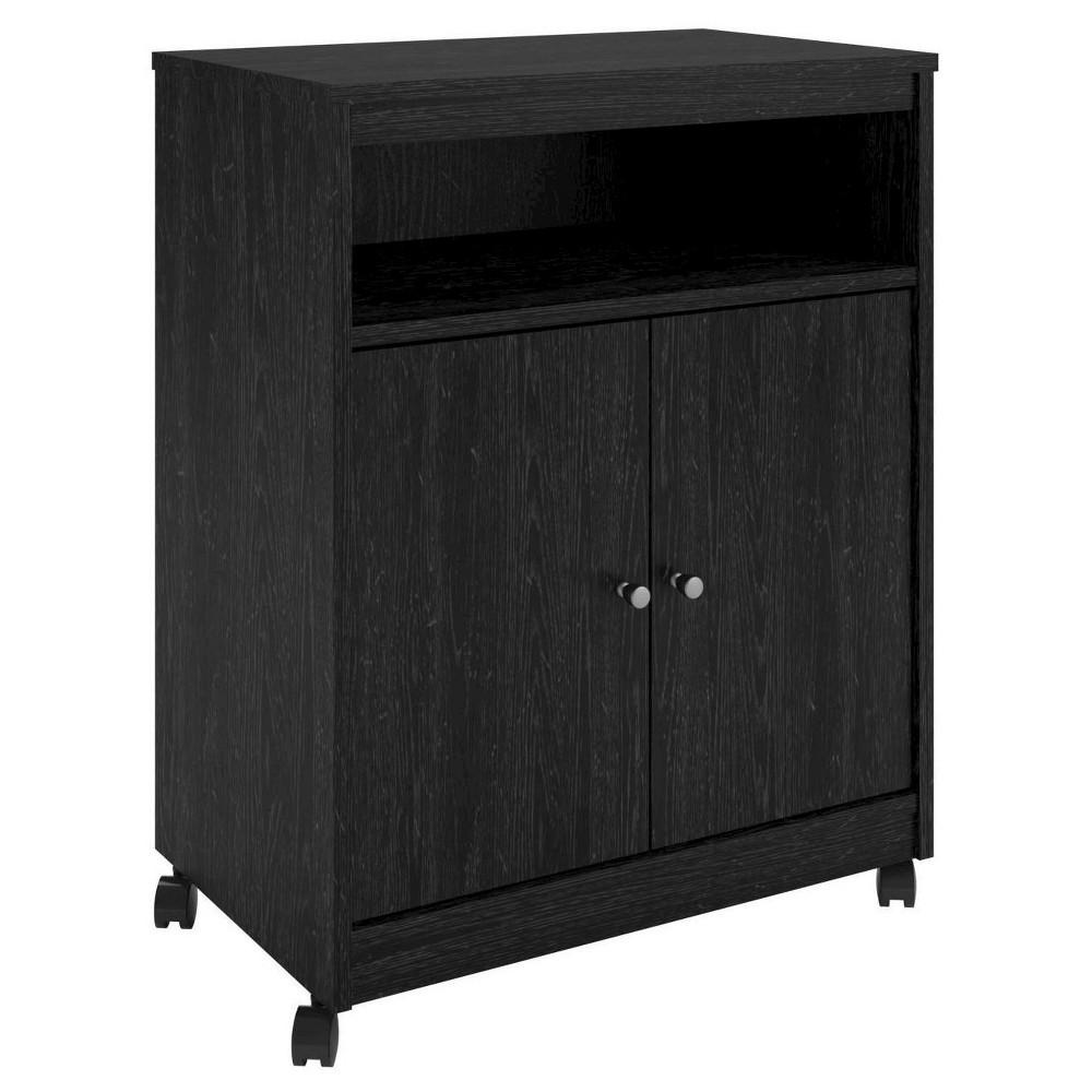 Teton Creek Microwave Cart Black Ebony Ash Room Amp Joy