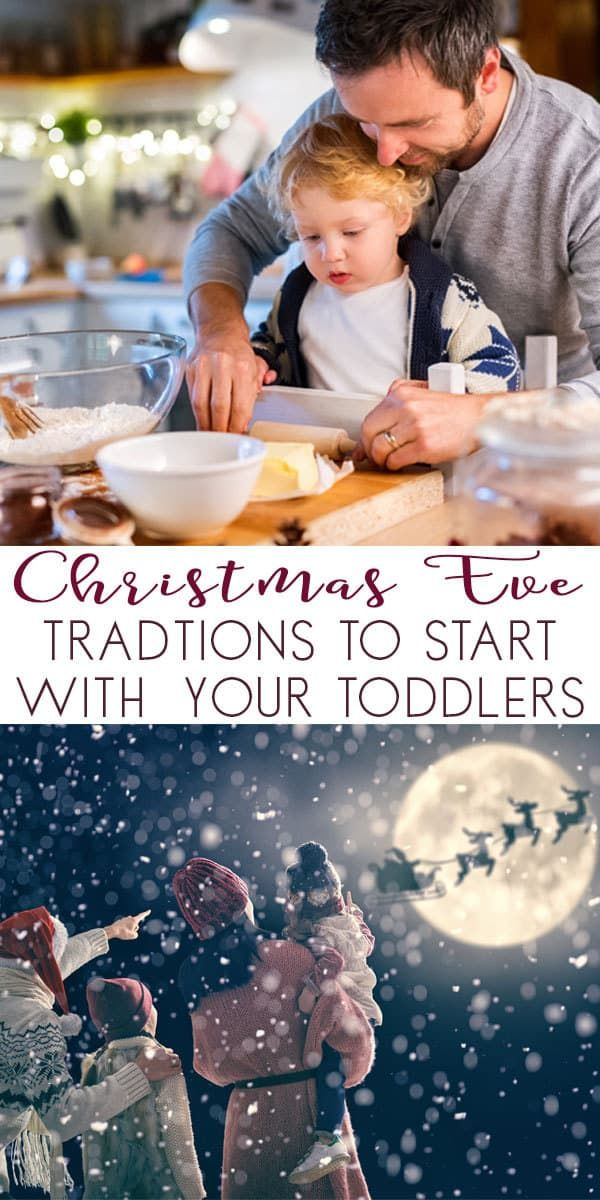 Simple Christmas Eve Traditions to Start with your Toddlers