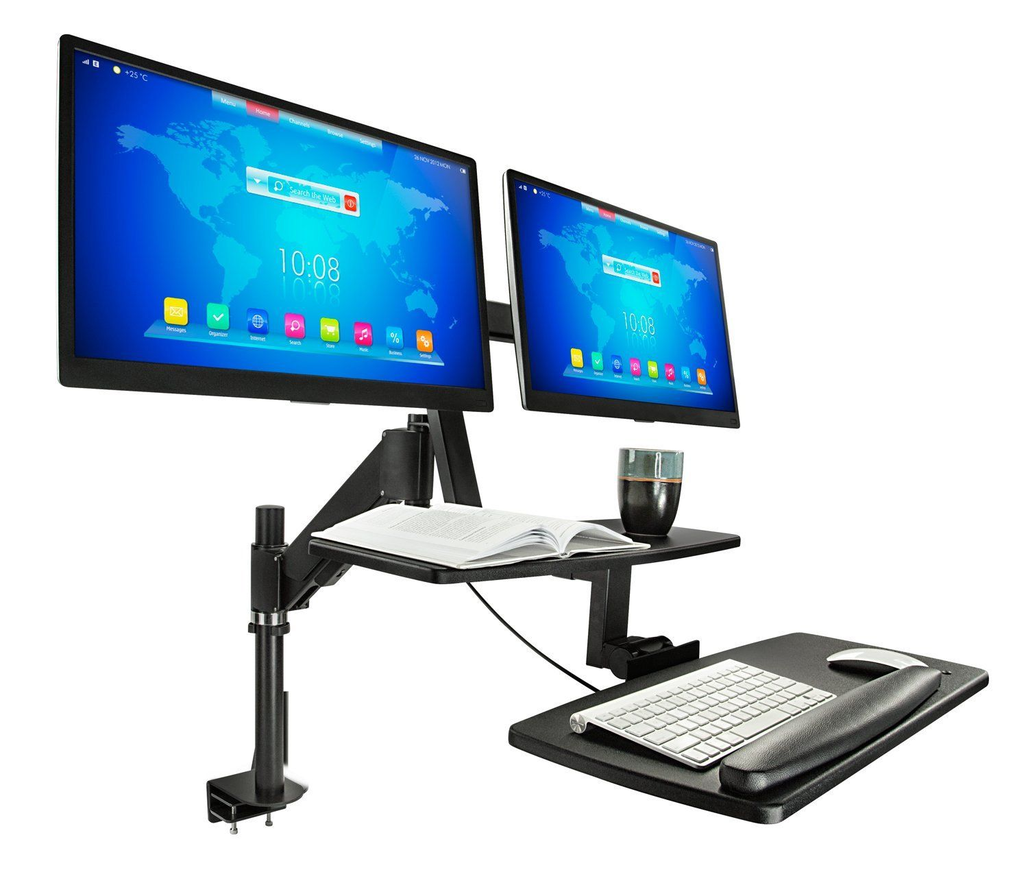 Amazon mountit mi sit stand desk standing desk height