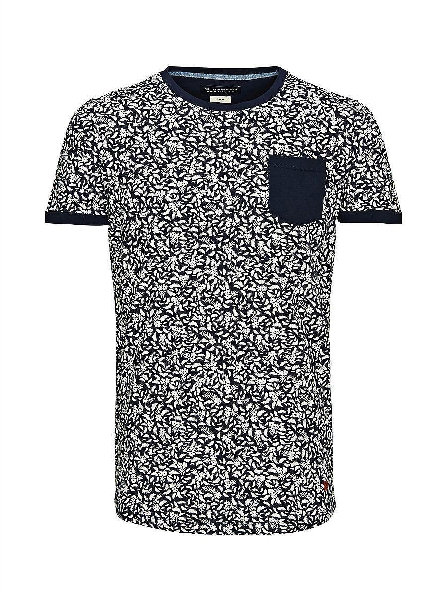 4a4b3626187638 PREMIUM by JACK & JONES - T-Shirt von PREMIUM - Slim fit -  Rundhalsausschnitt