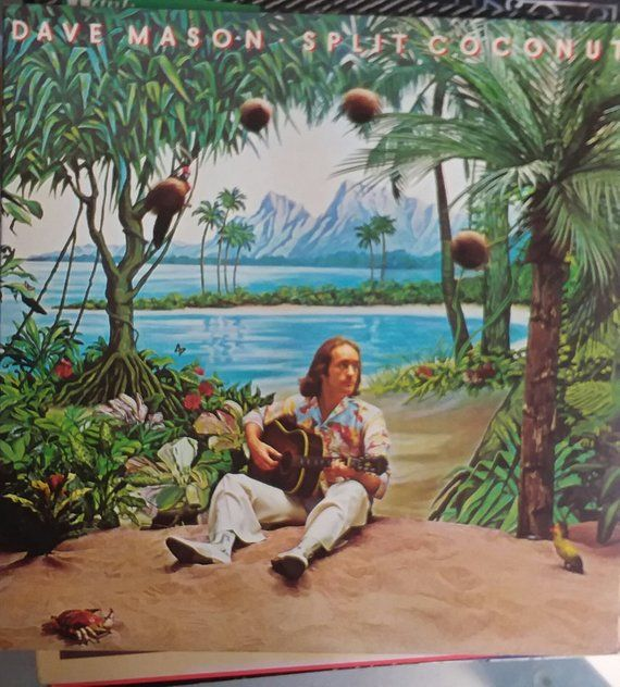 Image result for record album cover with coconut