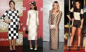 Checkered clothing fashion