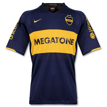 6a648c0d847a9 Camisa Boca Juniors 2008