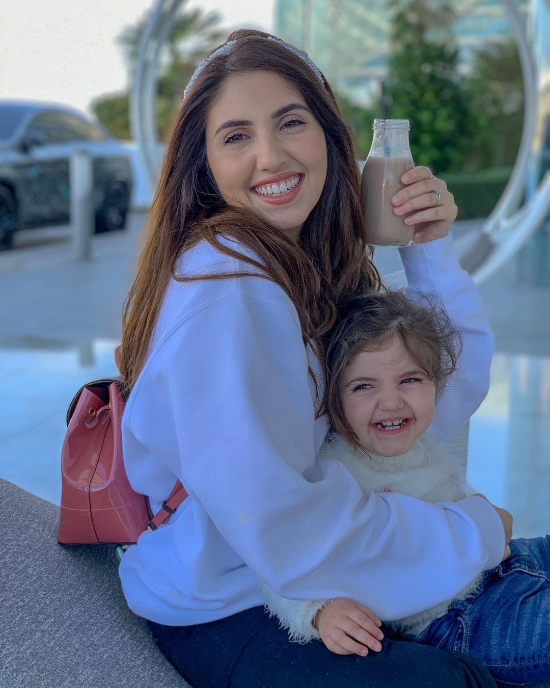 Asala Maleh اصالة المالح On Instagram Family Staycation Mode On Mila S Birthday Surprise At Yasisland S Kpop Fashion Outfits Famous Girls Kpop Fashion