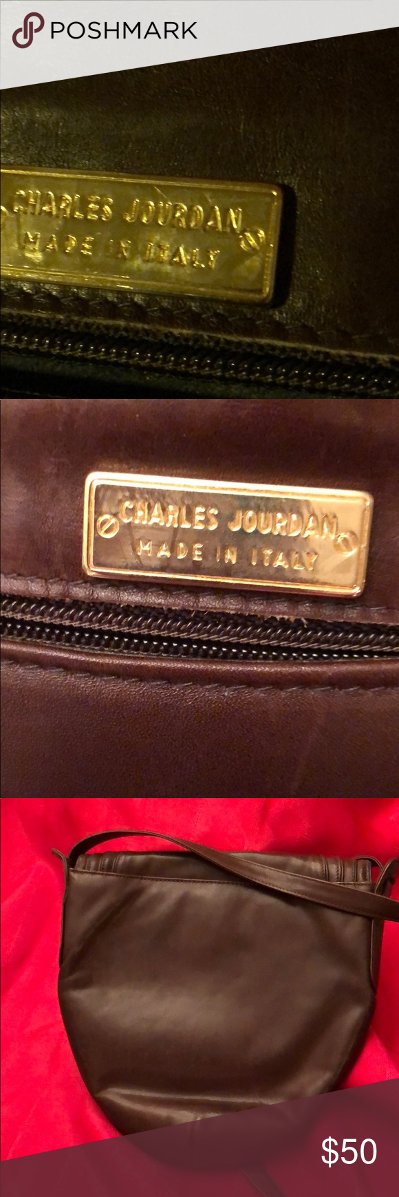 Charles Jourdan Leather Purse Leather Purses Charles Jourdan Purses