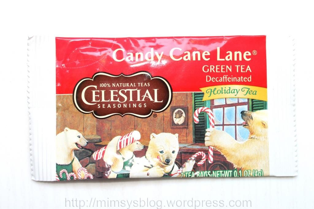 Celestial Seasonings Candy Cane Lane Decaf Green Tea Decaf green