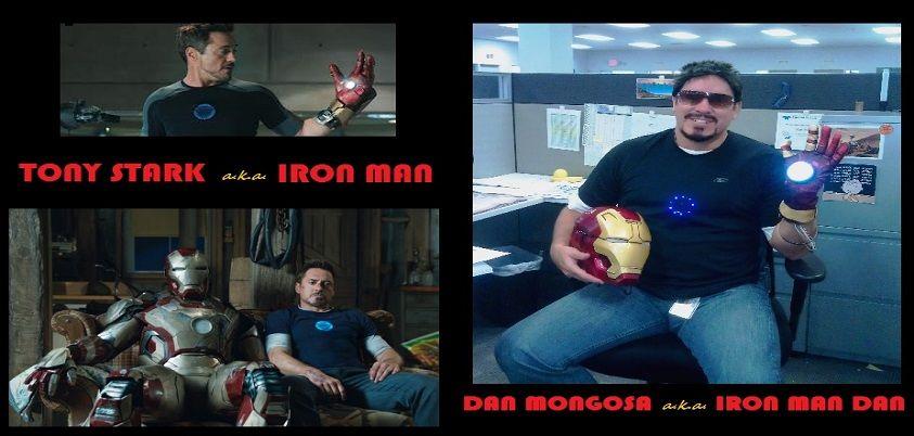 My 2013 Halloween costumeTony Stark aka Iron Man at work - work halloween ideas