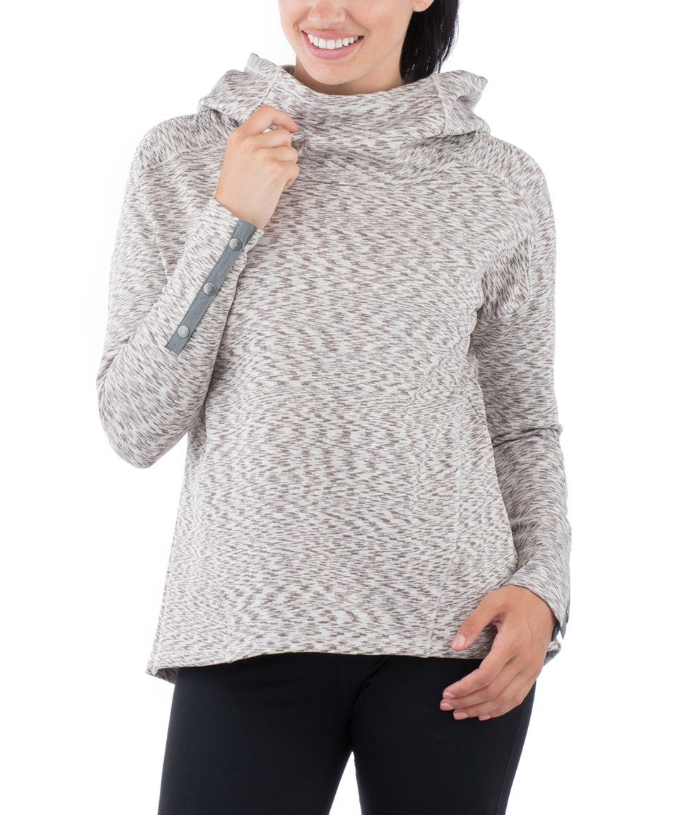 Take a look at this Pearl & Chocolate Cosmic Pullover today!