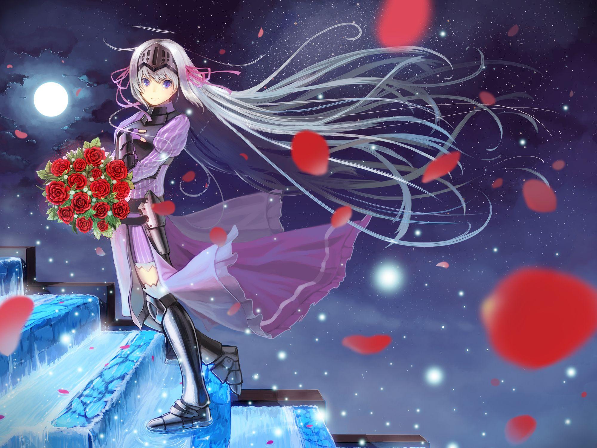 Anime Is This A Zombie Eucliwood Hellscythe Wallpaper Kore Wa