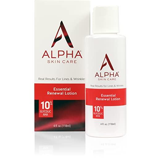 Amazon Com Alpha Skin Care Essential Renewal Lotion Anti Aging Formula 10 Glycolic Alpha Hydrox In 2020 Skin Care Essentials Anti Aging Lotion Anti Aging Formula