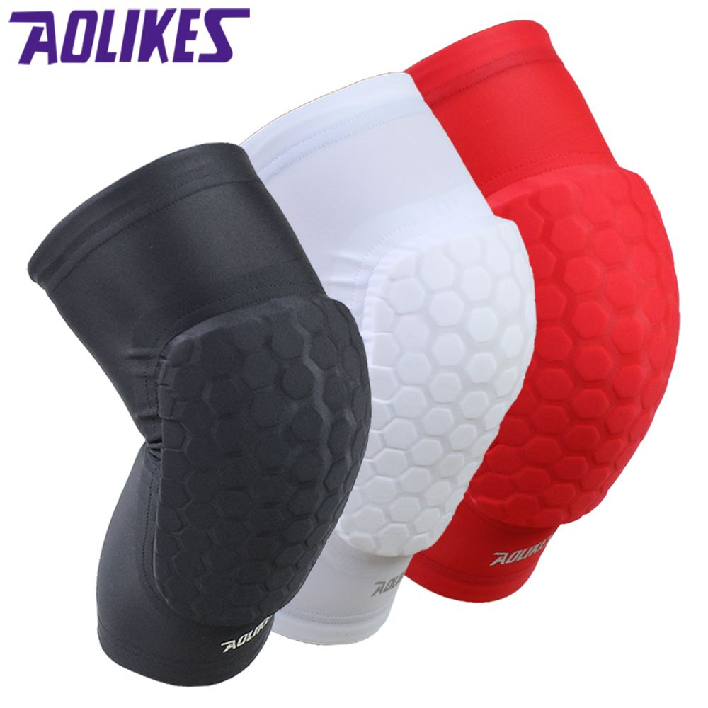 Long sponge breathable sport knee support knee_support