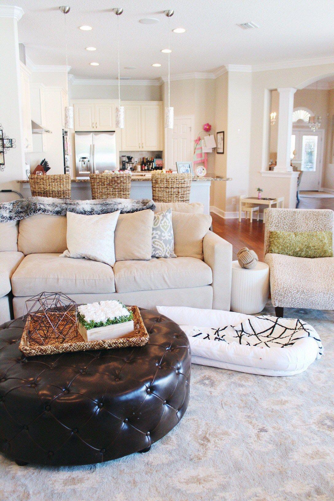living room design, design ideas for kids, kidproof decor, family ...