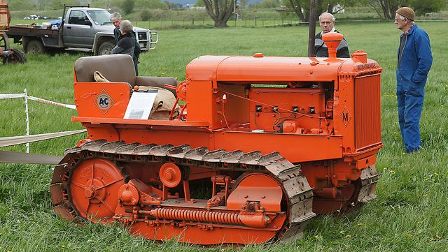 1936 Allis Chalmers M Crawler  | Vehicles | Tractors, Allis