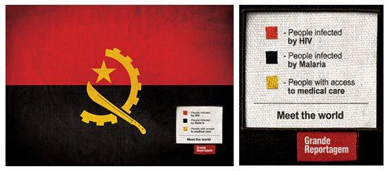 Meet The World De Icaro Doria Via Unblogged Creative Advertising World Flag