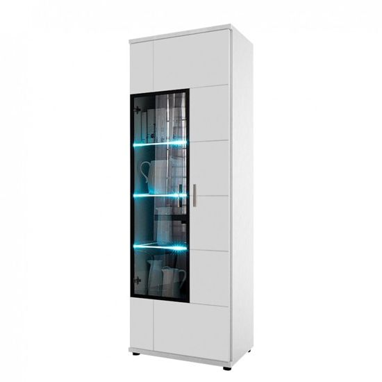 Display Cabinet Corona Door Right Modern Elegance To Your Home The In High Gloss White Elegant Case Of Lofts