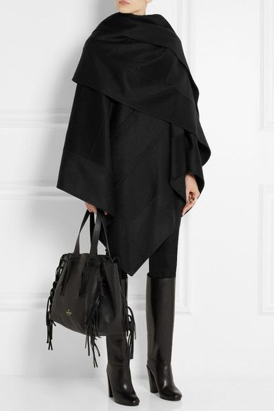 Dallas Shaw picks: a black cashmere cape coat this winter ...