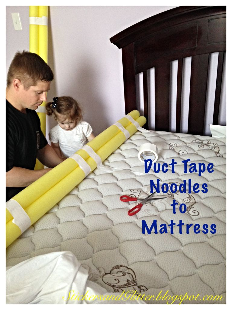 Stickers & Glitter DIY Toddler Bed Rails Diy toddler