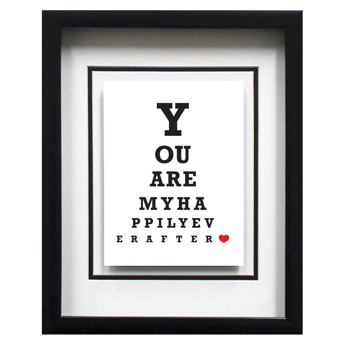 Eye chart typography you are my 11x14 bedroom definitely diy eye chart typography you are my 11x14 bedroom definitely nvjuhfo Image collections