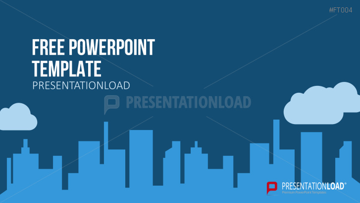 Presentationload free powerpoint template city skyline powerpoints presentationload free powerpoint template city skyline toneelgroepblik Images