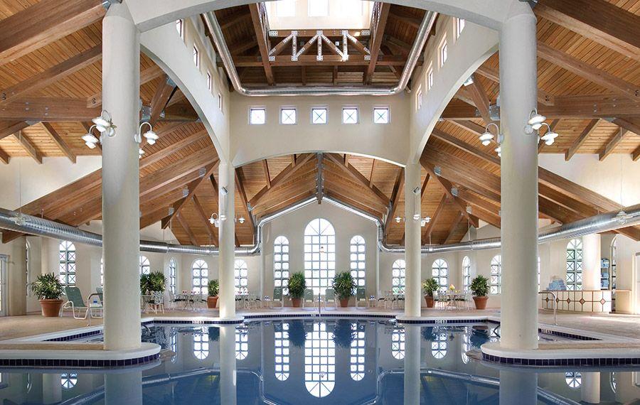 Indoor Pool Palm Coast Beach Hotels Hammock Resort Florida Luxury Resorts