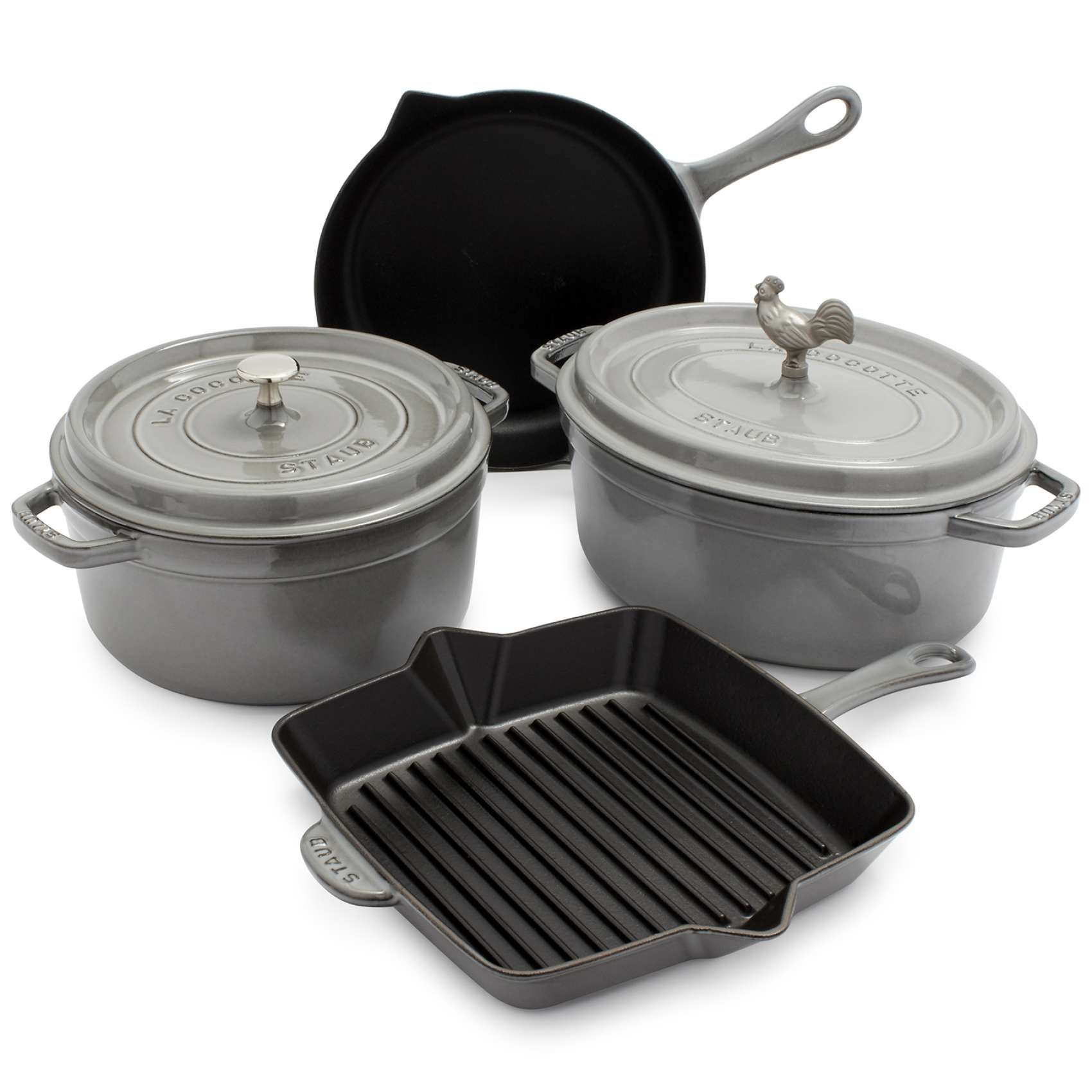 Staub 6-Piece Cookware Set | Cookware, Cookware set and Kitchens