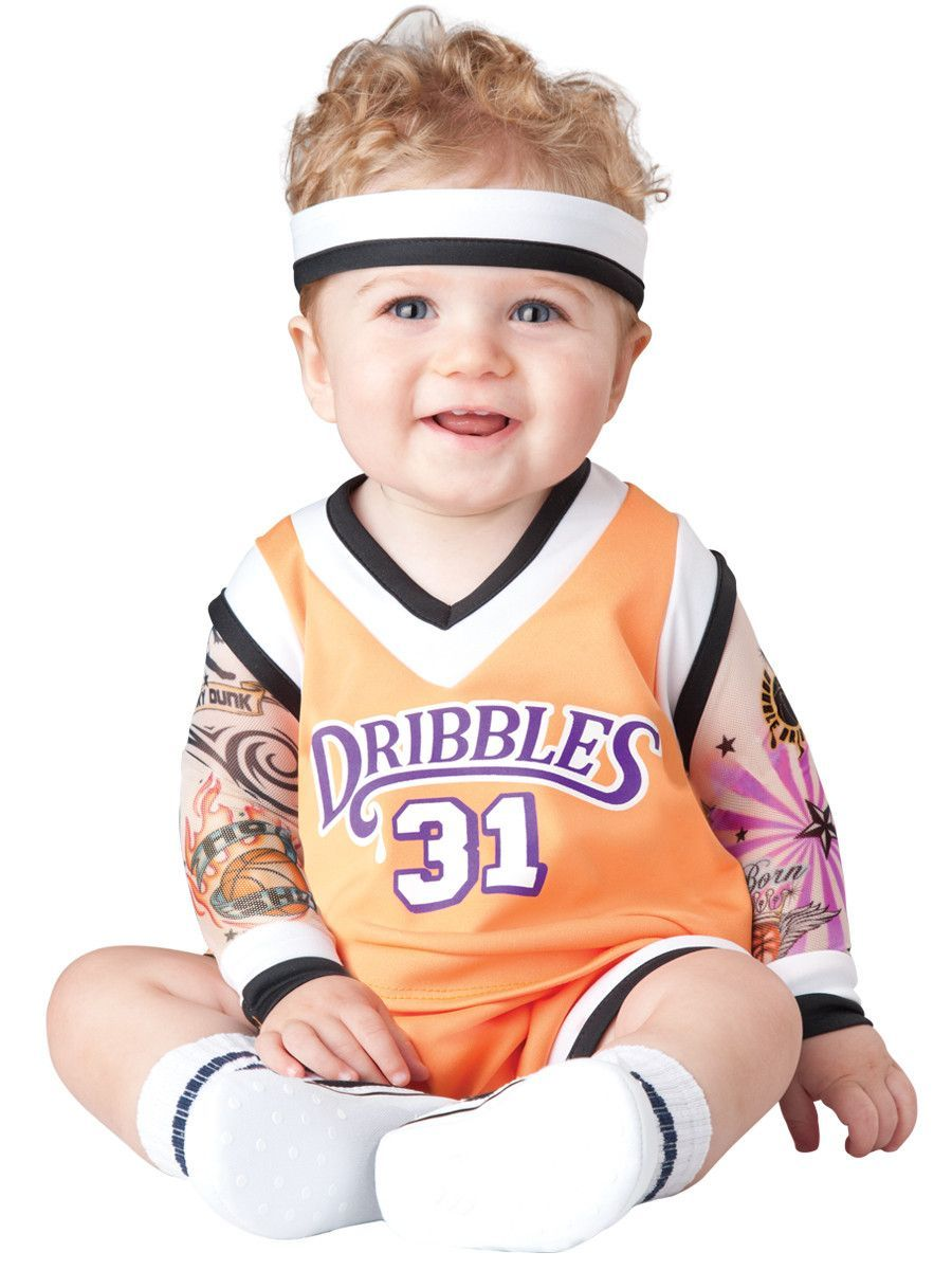 double dribble basketball player infant costume in 2018
