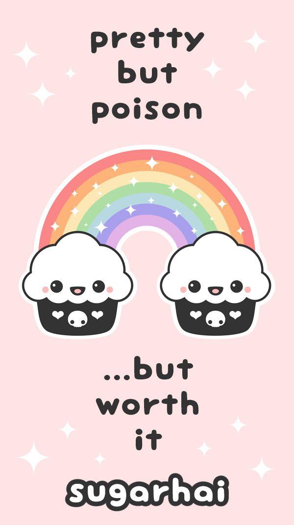 Pastel Goth Cupcake Rainbow Shirts Tumblr Clothing Cupcakes
