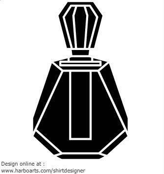 Perfume Bottle With Sprayer Free Vector Icons Designed By Freepik Perfume Bottle Design Perfume Bottles Perfume Art