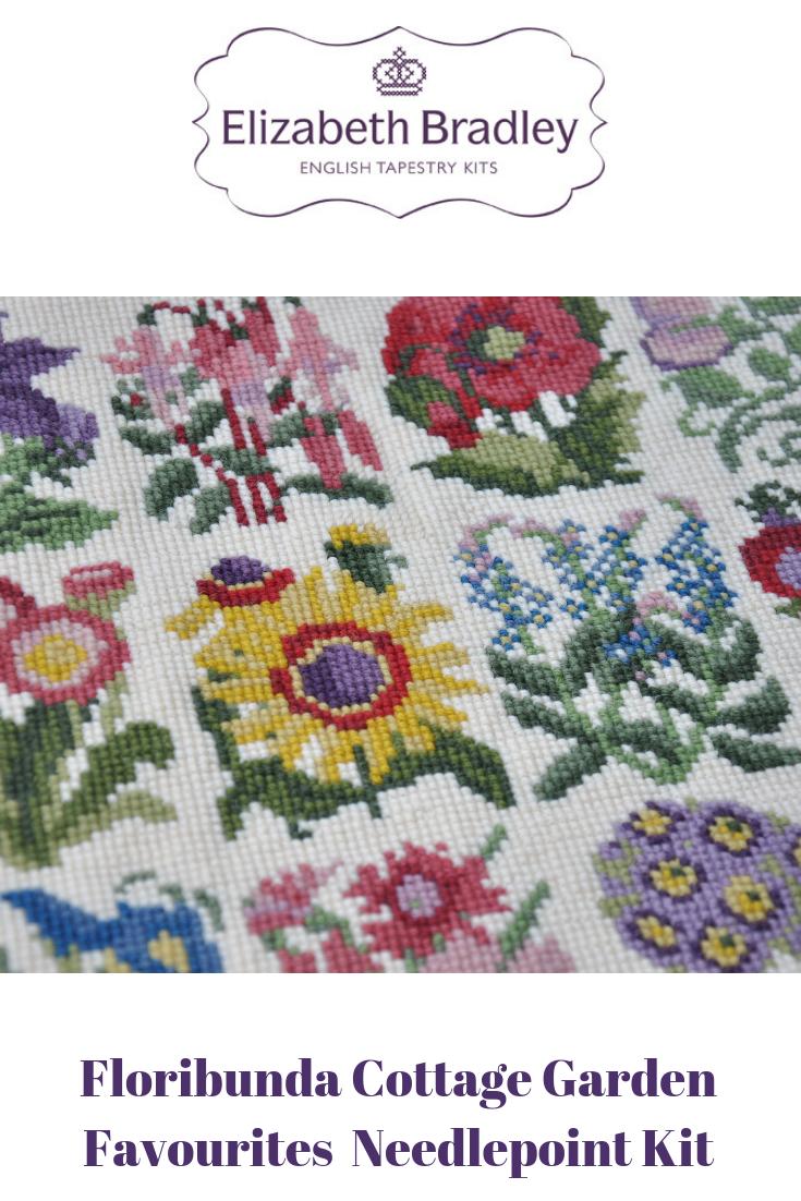 Cottage Garden Favourites Tapestry Kits Needlepoint Kits Tapestry