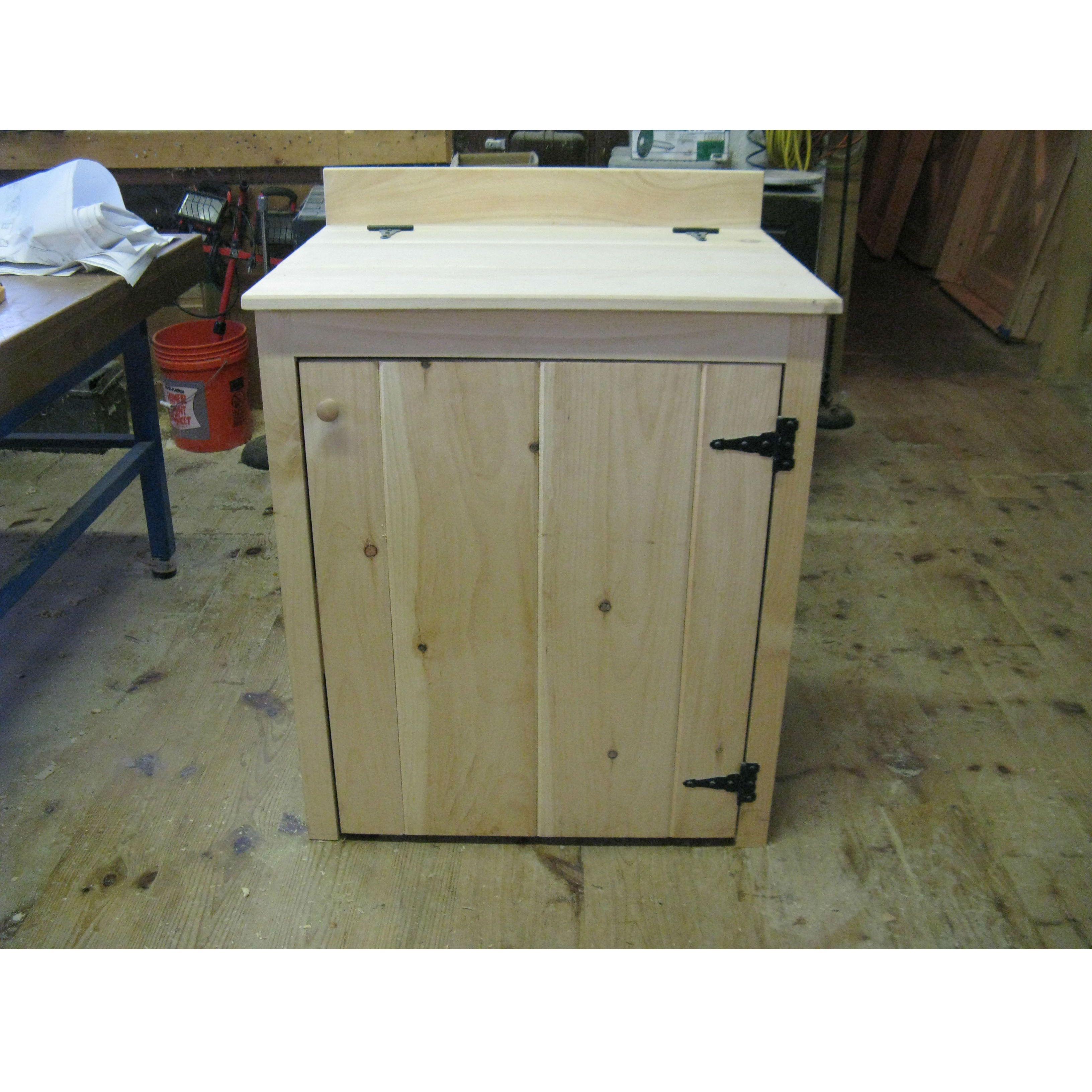 Barn Accessories Feeders Waterers Wooden Feed Bin Barn Depot