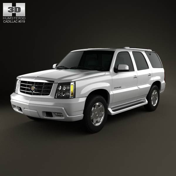 Cadillac Escalade 2002 3d Model From Humster3d.com. Price
