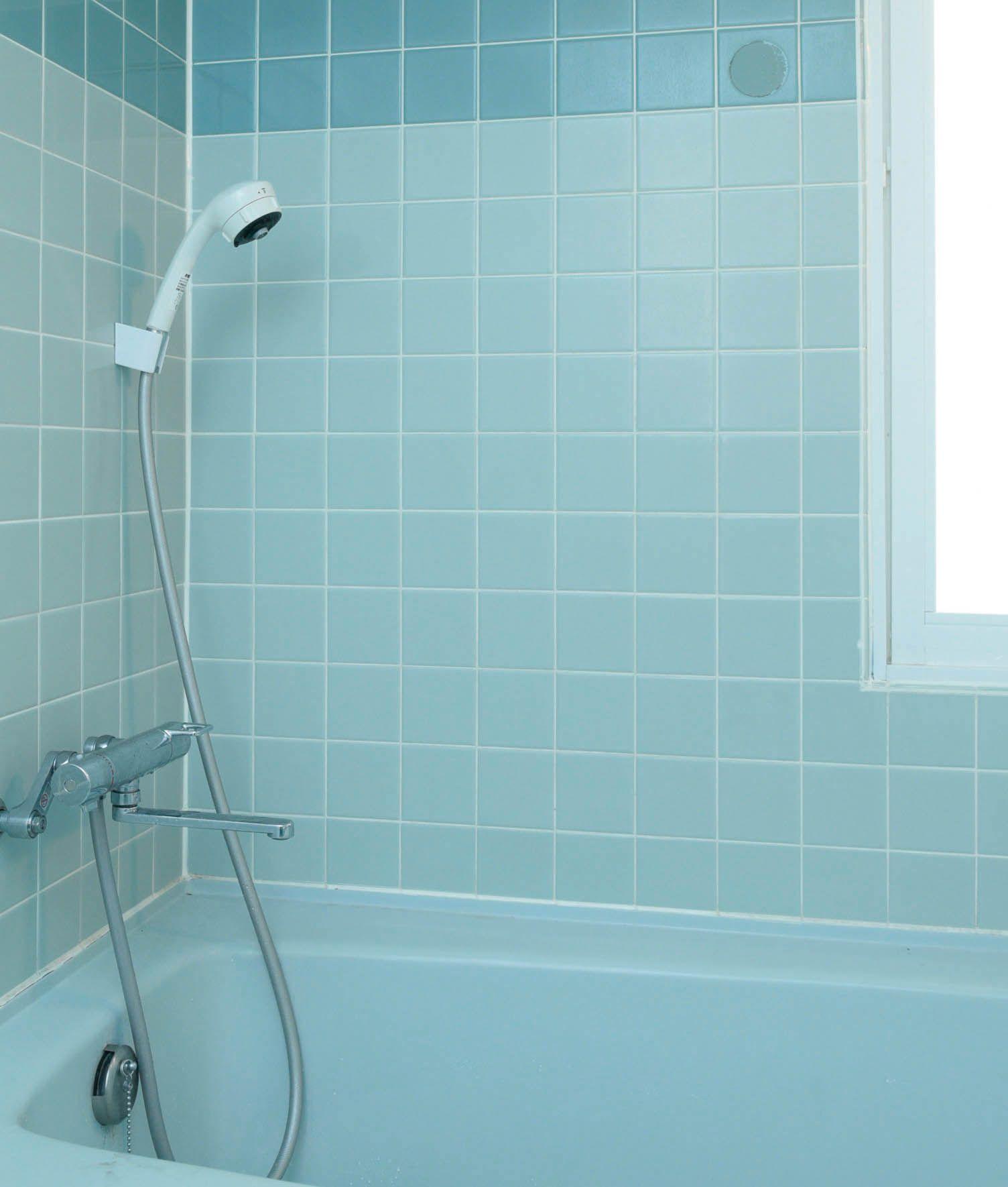 The360 Life 知ってた お風呂にも壁紙シールって貼れるんです