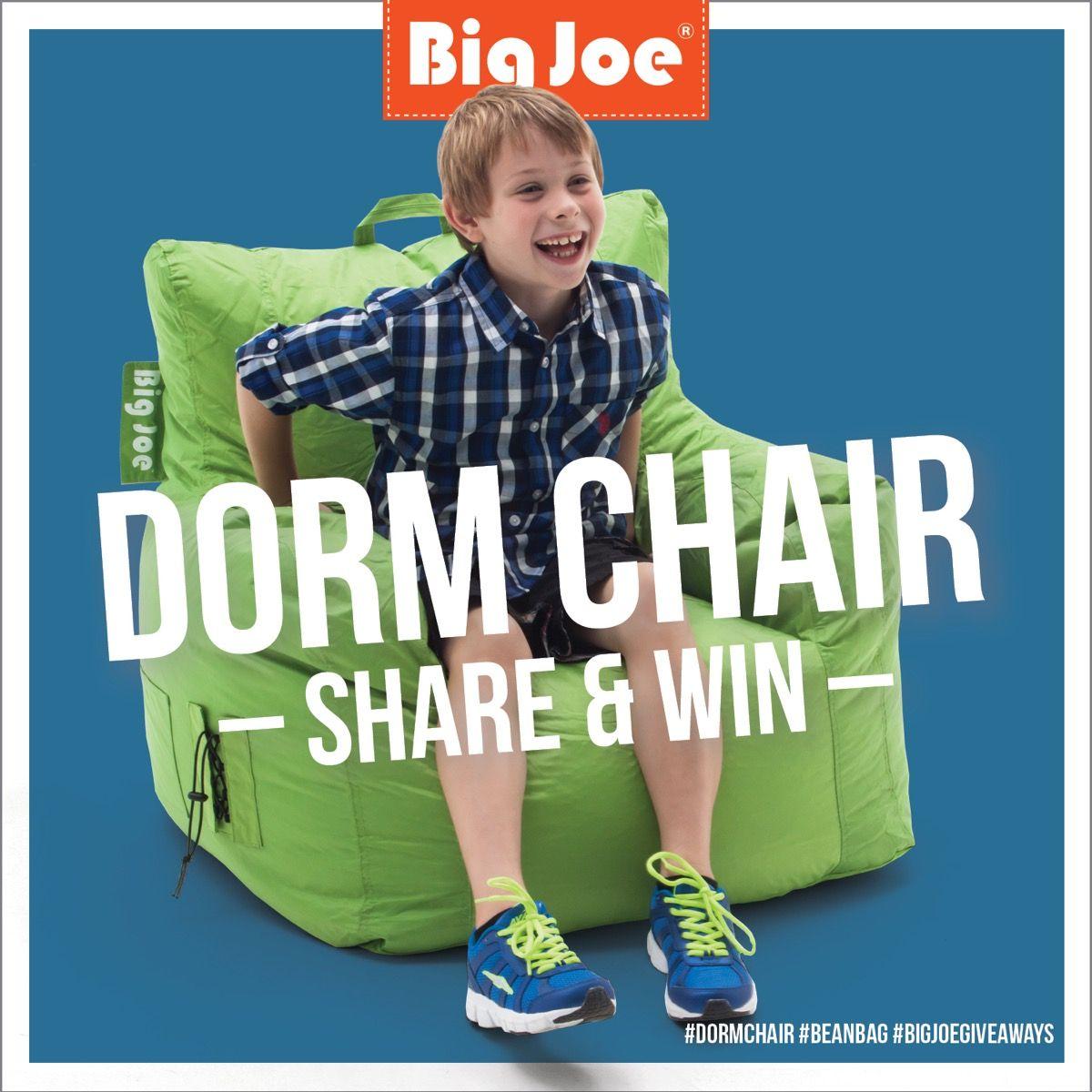 WIN a Big Joe Dorm Chair Dorm chairs, Dorm, Comfy chairs