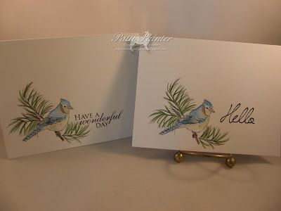 Bluejay set from this month's release at Doodle Pantry! Set of notecards.